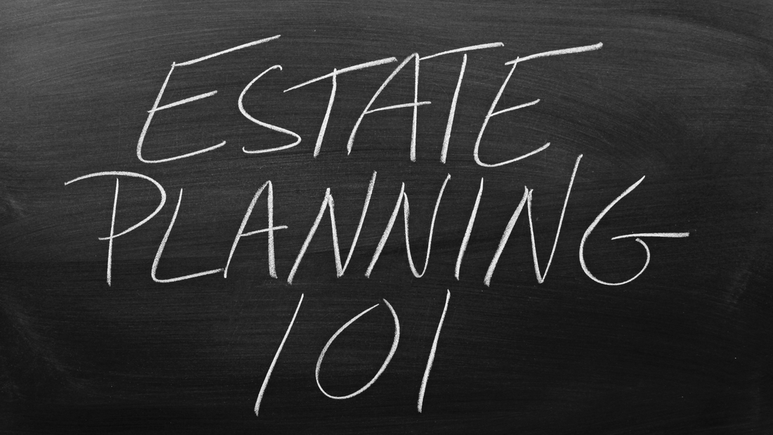 Chalkboard Writing Estate Planning 101